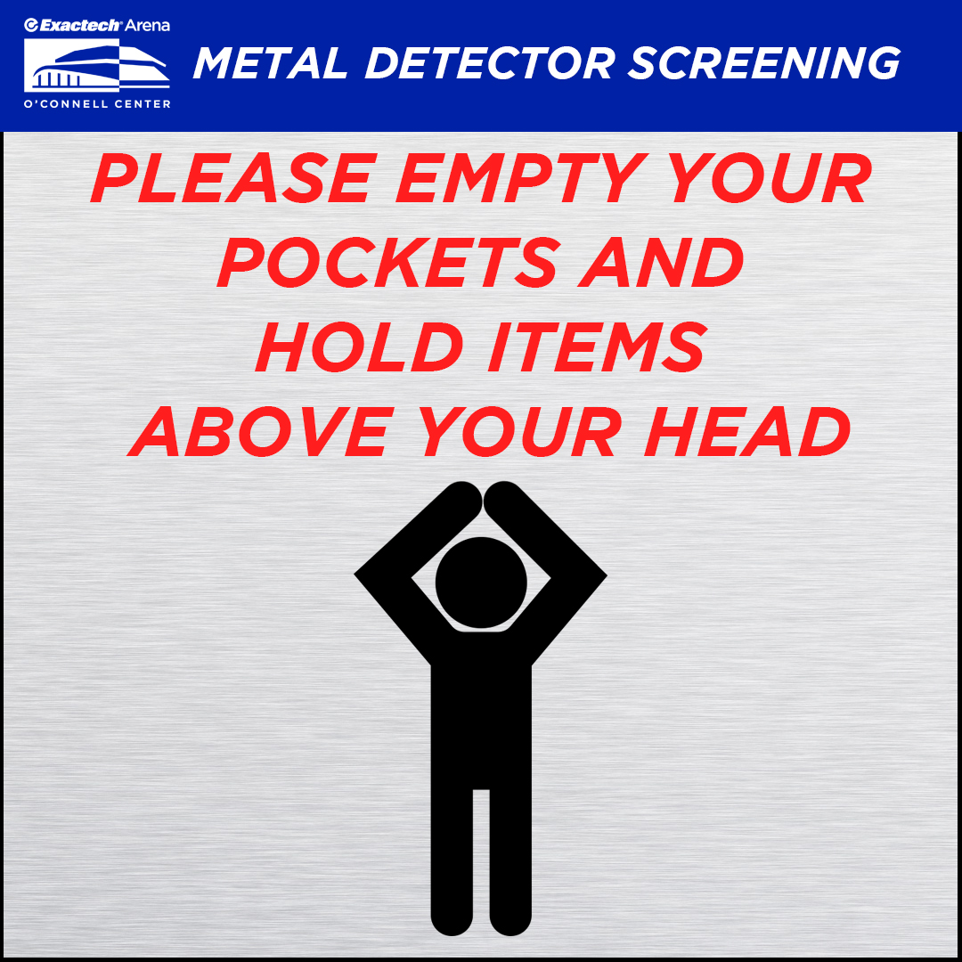 Metal Detector Screening – Stephen C. O\'Connell Center