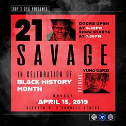 21 Savage Website